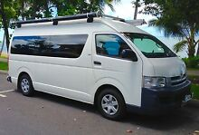 2009 Toyota Commuter - The ULTIMATE camper for 2 adults + 2 kids. Trinity Beach Cairns City Preview
