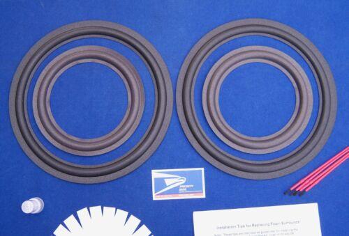 AR TSW610 TSW610A TSW610B Speaker Foam Surround Repair Kit / TSW-610 Refoam Kit