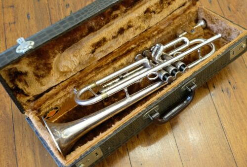 Conn Vintage One 1B-46 Silver Trumpet - Used