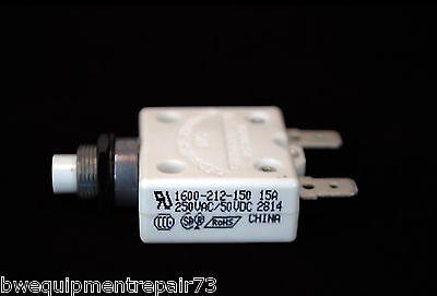 Lincoln Sa250 Sae300 Classic 2 3 Oem 15 Amp Circuit Breaker T12287-22 Bw576