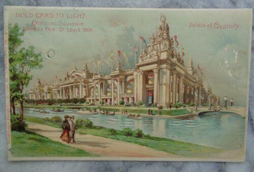 Vintage  Postcard HTL - St. Louis World
