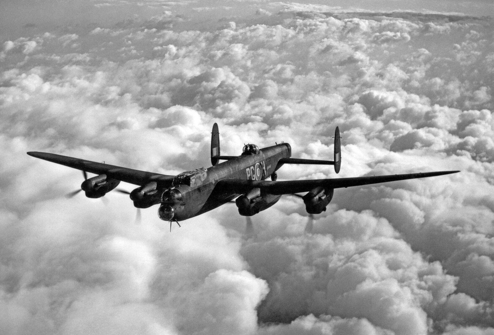 RAF Avro Lancaster Bomber Aviation Photo Memorabilia 065