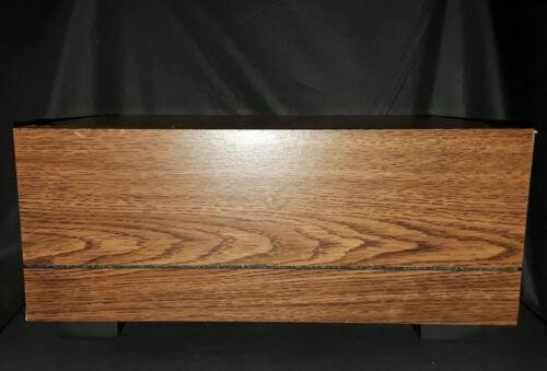(2) Pioneer CP-F9900 Wood Grain Speaker Stands (New!)