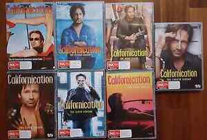 Californication dvd box set series 1-7 (17 discs in total) Summer Hill Ashfield Area Preview