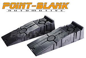 Anti-Slip Car Service or Display Ramps 1500kg Load 2-Piece Heavy Duty Car Ramps