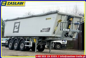 ZASŁAW 39 M³ LIGHT 5.59 T Alu tipper / UNIVERSAL DOOR !