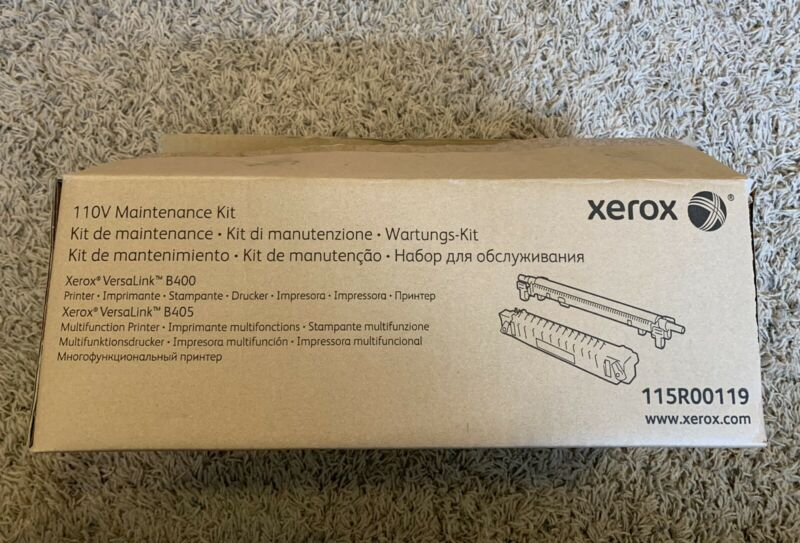 Genuine Xerox 110v Maintenance Kit 115R00119 for VersaLink B400 B405