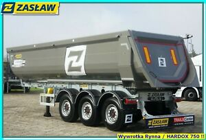 ZASŁAW 30 m³  HALF-PIPE tipper for stones & rubbel NEW!