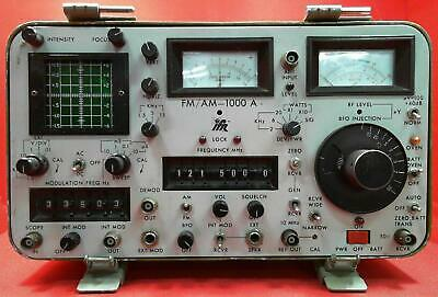 Ifrmarconi 1000a 1164 Ifr 1000a Communications Service Monitor