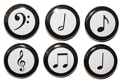 mini musical notes fridge magnets gift