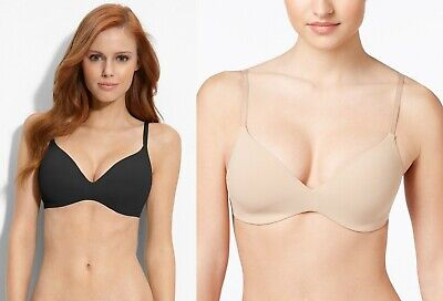 Calvin Klein Perfectly Fit Wirefree Convertible Bra F2781 Soft Cup Contour NEW (Perfectly Fit Soft Cup Bra)