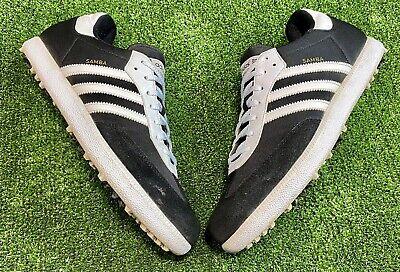 Adidas SAMBA Men's Spiked Water Golf Shoes UK Size 10 / EU Size 44.2/3