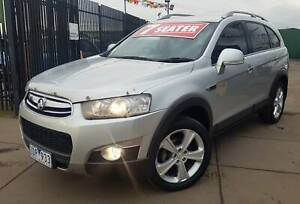 2012 HOLDEN CAPTIVA LX SERIES 2  LOW KM 7 SEATER Ravenhall Melton Area Preview