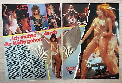 BRAVO Bericht Tina Turner - 80er Jahre - Tina Turner 80er Jahre