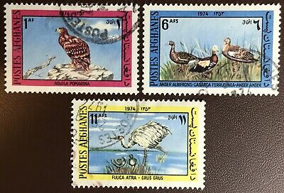 Afghanistan 1974 Birds FU