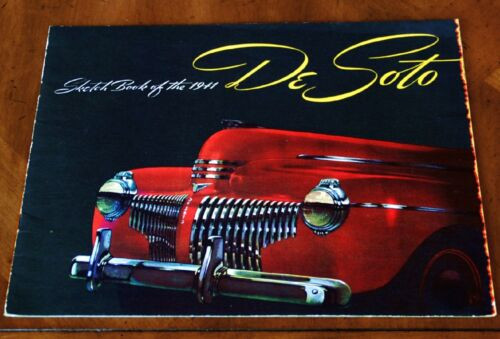 DeSoto brochure Prospekt, 1941