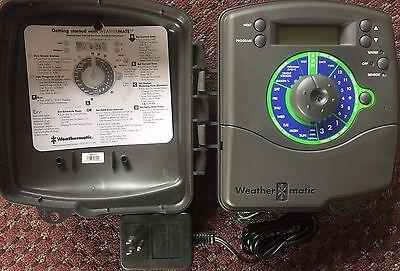 12 Station Indoor Controller - Weathermatic WM12-N 12 Station Zone Indoor Sprinkler Controller