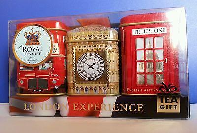 Ahmad Tea British Tea Gift Set London Experience English Afternoon, Breakfast