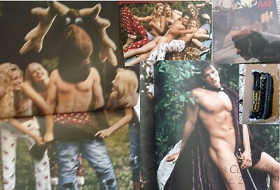 A&F Quarterly Abercrombie & Fitch Christmas 2003 Issue Catalog Nude-BRUCE WEBER!