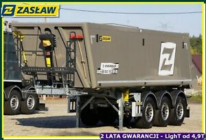 ZASŁAW 32 m³ Aluminum tipper for sand & grain READY !!!