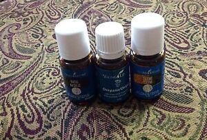 Young living essential oils Basil, Thyme, Oregano