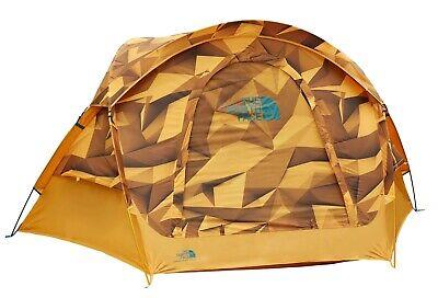 NWT The North Face Homestead Domey 3 star gazing tent, zinnia orange, yellow