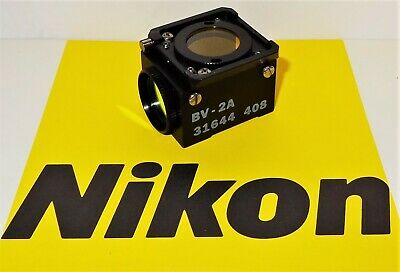Nikon Bv-2a Fluorescent Microscope Filter Cube For Labophot Optiphot Microphot