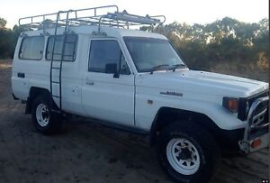 Landcruiser HJZ 1995 Troop Carrier TROOPY lots of extras UPDATED Gabbadah Gingin Area Preview