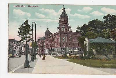 Germany, Hamburg, Hauptpost Postcard, A579