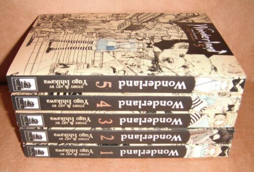 Wonderland Vol. 1,2,3,4,5 Manga Graphic Novels Set English