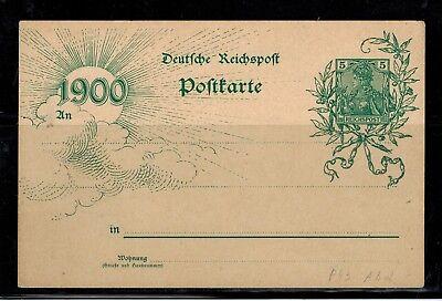 Deutsches Reich Postkarte P 43  ungebraucht -int.Nr.108