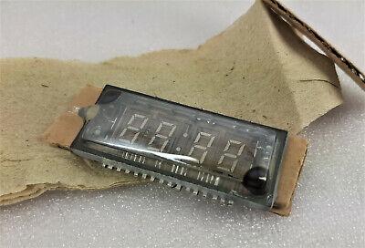 Soviet Ussr Tubes Ivl2-75 2-75 Vfd Digit Clock Display Nixie Green Glow