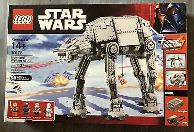 Lego Star Wars Rare UCS 10178 Motorized Walking AT-AT 100% COMPLETE in Box