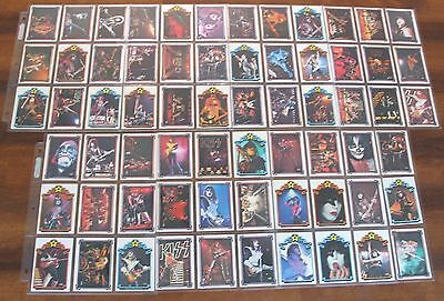 Kiss Card Set 1978 Donruss Series 2 Cards 67~132 Complete
