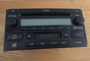 Toyota Stereo System