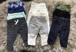 3-6 month old size pants lot