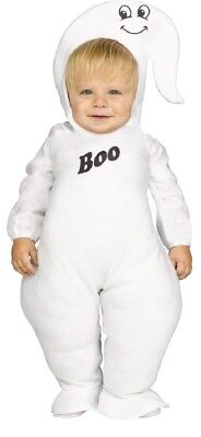 Kleinkinder Jungen Mädchen Ghost Cutie Halloween Kostüm Kleid Outfit 2-4 Jahre