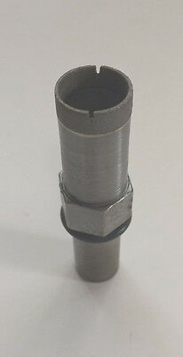 "National Diamond Lab 1""x1/2"" Diamond Core Drill Bit Grade 1-Peice (Wet)"
