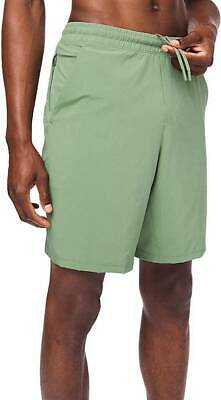 "Lululemon Men's Pace Breaker Short 9"" Lined WLWG Willow Green Size L"