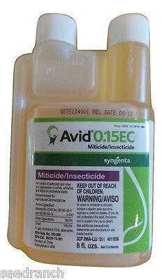 AVID Insecticide 0.15 EC Miticide Abamectin Spider Mite Control - 8 Oz.
