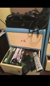 Xbox 360 with lots of games and accessories taking good offers.
