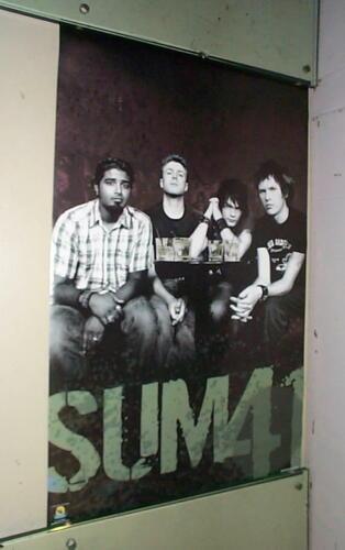 SUM41 SUM 41 Vintage 2004 Poster LAST ONE