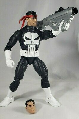 "HASBRO MARVEL LEGENDS 6"" LOOSE PUNISHER ACTION FIGURE RETRO THROWBACK"