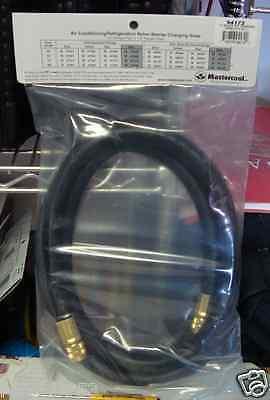 Mastercool 94172 Black 38 Chargingvacuum Refrigerant Hose 72 Nylon Barrier
