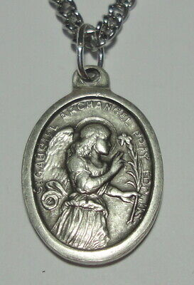 St Gabriel the Archangel Holy Medal on Chain Patron of Communication