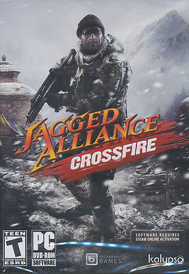 Jagged Alliance Crossfire Tactical Combat Strategy Pc Game   Us Version   New