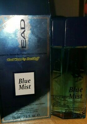 EAD BLUE MIST compared to COOL WATER by DAVIDOFF