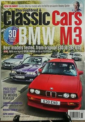 Thoroughbred & Classic Cars Nov 2016 BMW M3 Best Models Tested FREE SHIPPING