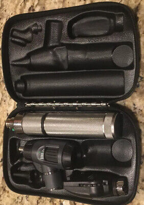 Welch Allyn Macroview 23820-led Standard Ophthalmoscope 11710 Diagnostic Set