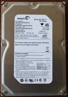 Hard Disk IDE Seagate Barracuda 7200.10 ST3320620A 320GB